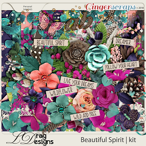 Beautiful Spirit by LDragDesigns