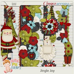 Jingle Joy Page Borders