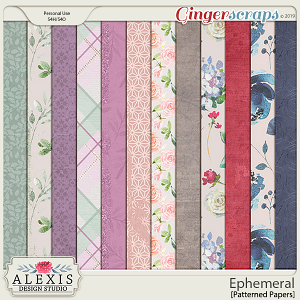 Ephemeral - Patterned Papers