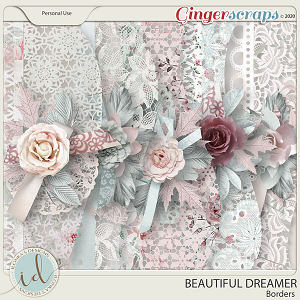 Beautiful Dreamer Borders by Ilonka's Designs