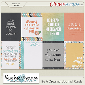 Be A Dreamer Journal Cards