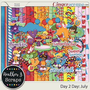 Day 2 Day: July KIT by Heather Z Scraps