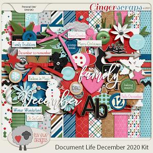 Document Life December 2020 Kit by Luv Ewe Designs