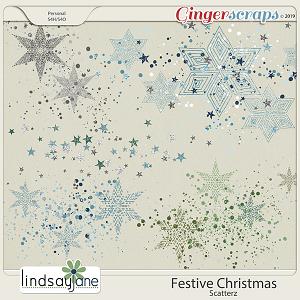 Festive Christmas Scatterz by Lindsay Jane
