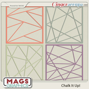 Chalk It Up LAYOUT FRAMES by MagsGraphics