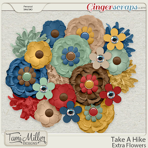Take A Hike Flowers by Tami Miller Designs
