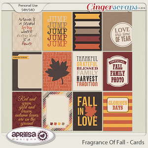 Fragrance Of Fall - Cards
