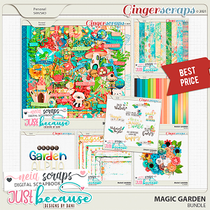 Magic Garden Bundle by JB Studio and Neia Scraps