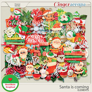 Santa is coming - elements