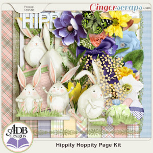 Hippity Hoppity Page Kit by ADB Designs