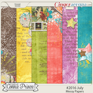 #2016 July - Messy Papers