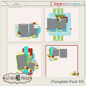 Template Pack 59 by Scraps N Pieces