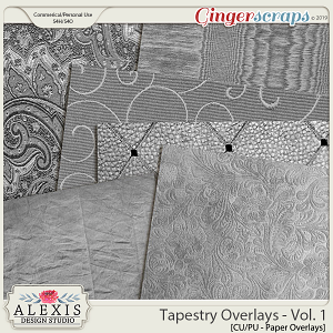 Tapestry Overlays Vol. 1 - CU by Alexis Design Studio