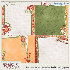 Booboos & Ouchies Stacked Papers (layers)