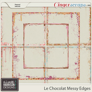Le Chocolat Messy Edges by Aimee Harrison