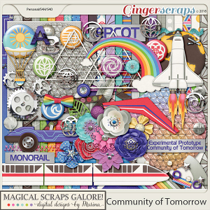 Community of Tomorrow (page kit)