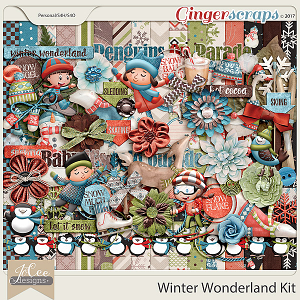 Winter Wonderland Kit by JoCee Designs