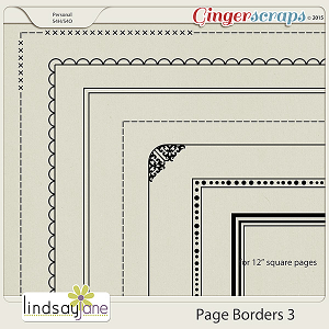 Page Borders 3 by Lindsay Jane