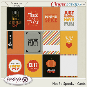 Not So Spooky - Cards by Aprilisa Designs