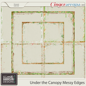 Under the Canopy Messy Edges by Aimee Harrison