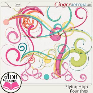 Flying High Flourishes by ADB Designs