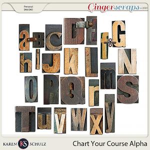 Chart Your Course Alpha by Karen Schulz