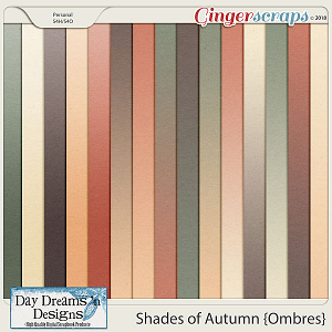 Shades of Autumn {Ombre Papers} by Day Dreams 'n Designs