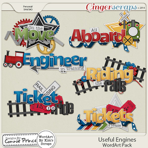 Useful Engines - Word Art