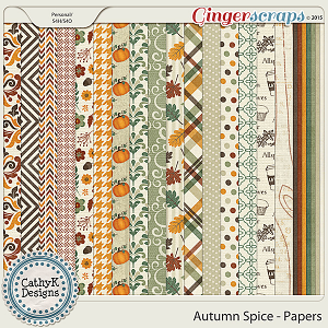 Autumn Spice - Papers