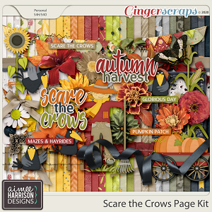 Scare the Crows Page Kit by Aimee Harrison