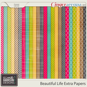 Beautiful Life Extra Papers by Aimee Harrison