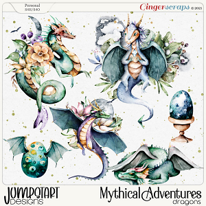 Mythical Adventures {Dragons}