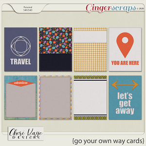 Go Your Own Way Cards by Chere Kaye Designs