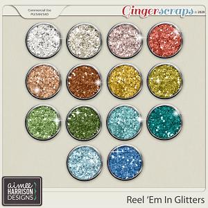 Reel Em In Glitters by Aimee Harrison