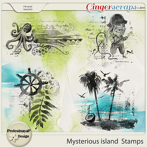Mysterious island Stamps