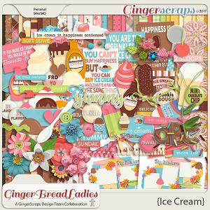 GingerBread Ladies Collab: Ice Cream