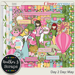 Day 2 Day: May KIT by Heather Z Scraps