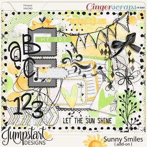 Sunny Smiles {Add-On} by Jumpstart Designs