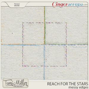 Reach for the Stars Messy Edges by Tami Miller Designs