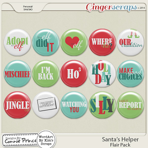 Santa's Helper - Flair Pack