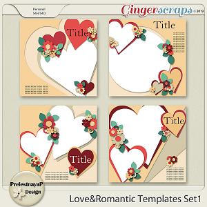 Love&Romantic Templates Set1