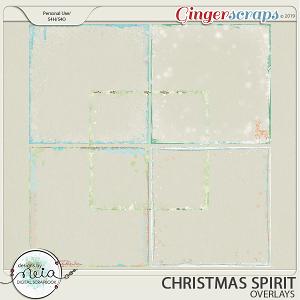 Christmas Spirit - Overlays - by Neia Scraps
