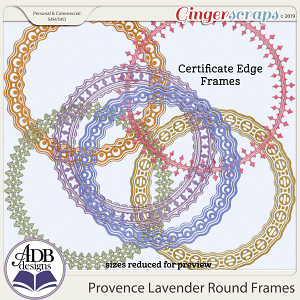 Provence Lavender Frames by ADB Designs