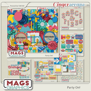 Party On BUNDLE by MagsGraphics