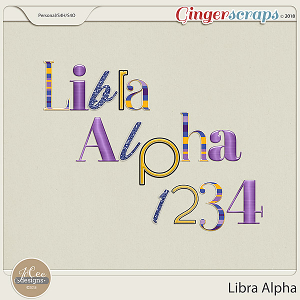 Libra Alphas by JoCee Designs