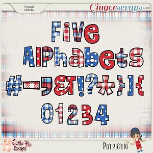 Patriotic Alphabets