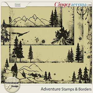 Adventure Stamps & Borders
