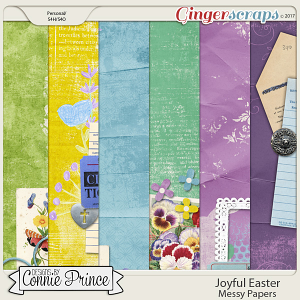 Joyful Easter - Messy Papers