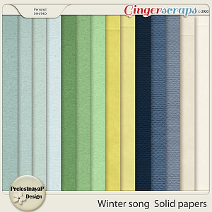 Winter song Solid papers