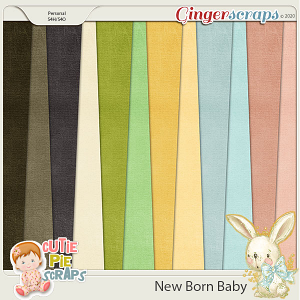 New Born Baby Solid Papers